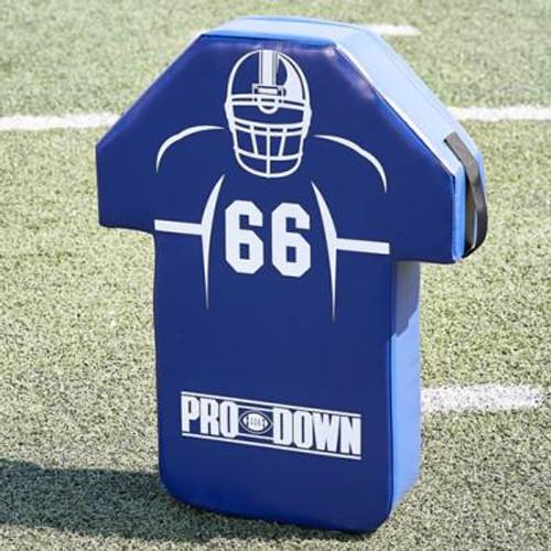 Pro Down Man Shield - Royal