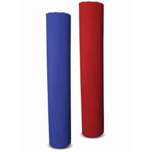 POST PAD HOOK/LOOP 5' - 6.5' - RED