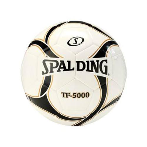 Spalding TF-5000 Soccer BallWhite/Black Sz 5