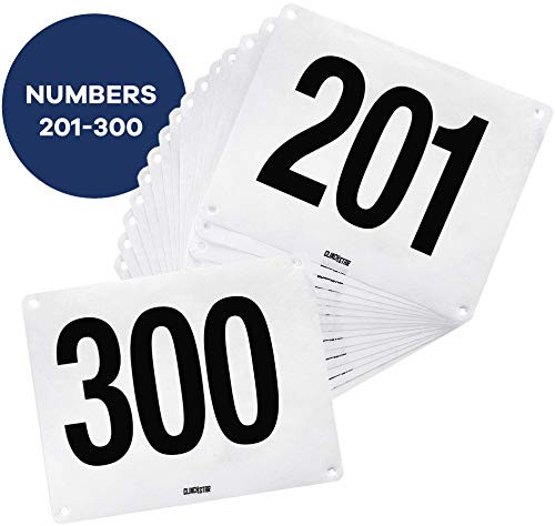 Competitor Numbers 201-300
