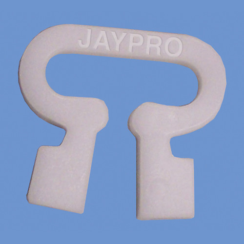 JayPro Easy Track Net Clips (White)