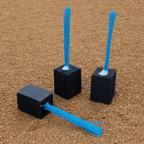 Baseball base plugs