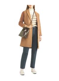 Pippa Middleton Inspired Pea Coat Camel Coat
