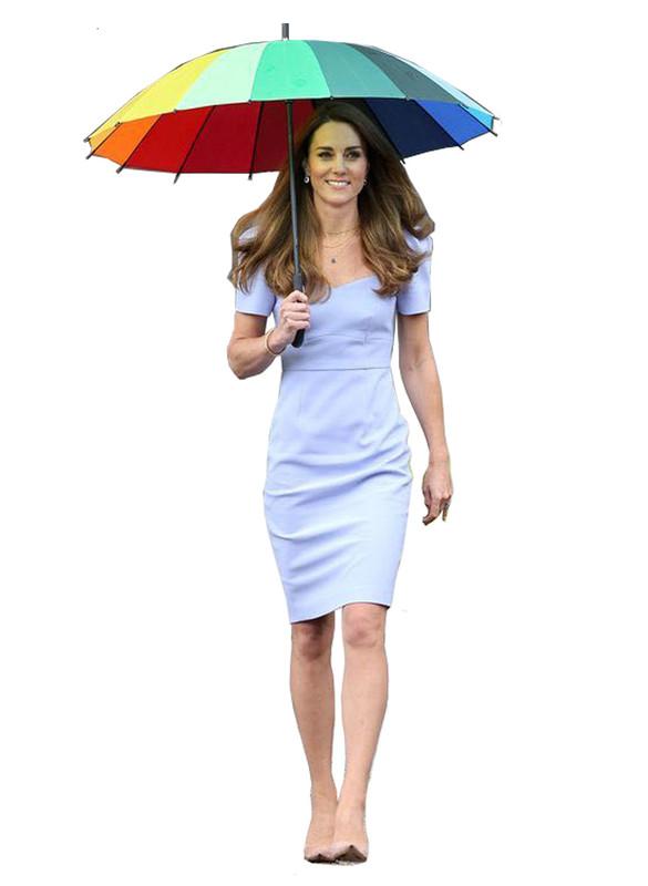 Sweetheart Neckline Puffed Sleeve Shift Dress in Pale Blue