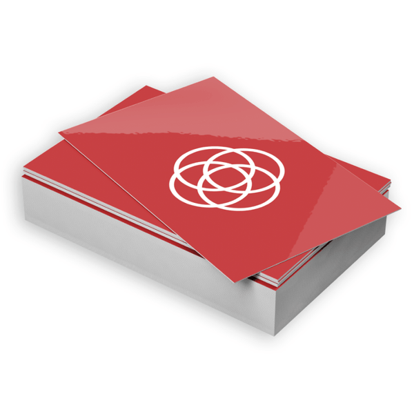 Business cards are widely used as a networking tool and a way to make a good first impression. These business cards have a glossy and shiny lamination which also offers better durability.