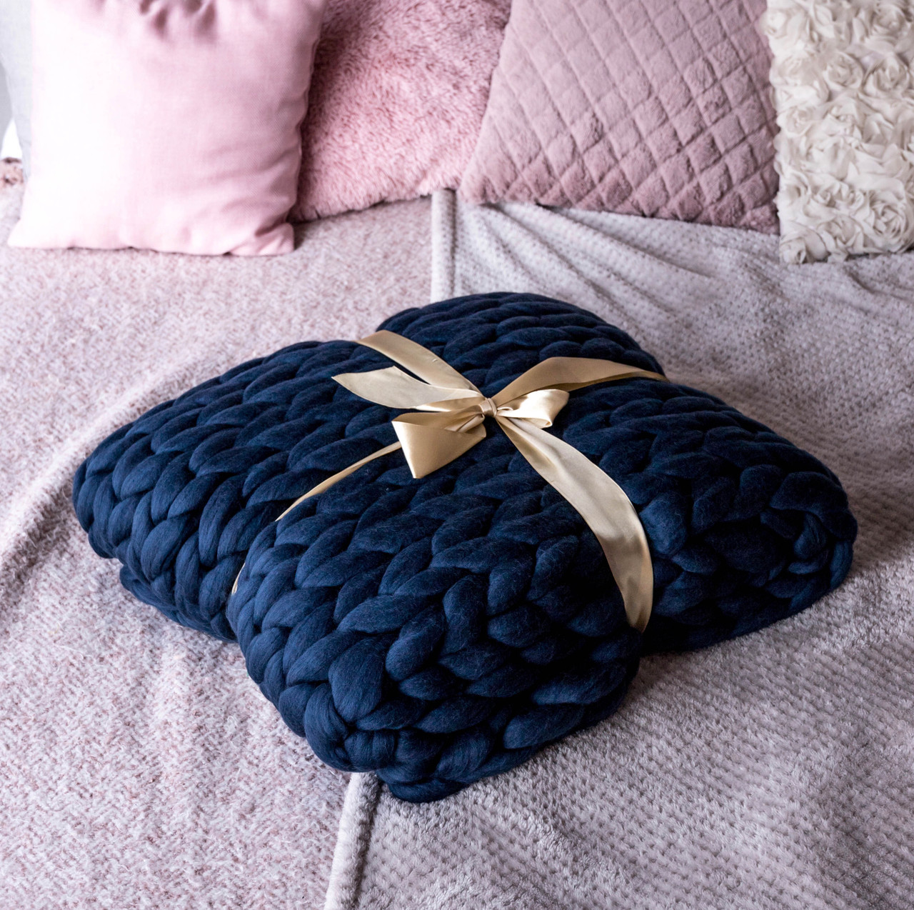 Adding textural elements to your interior design with chunky wool