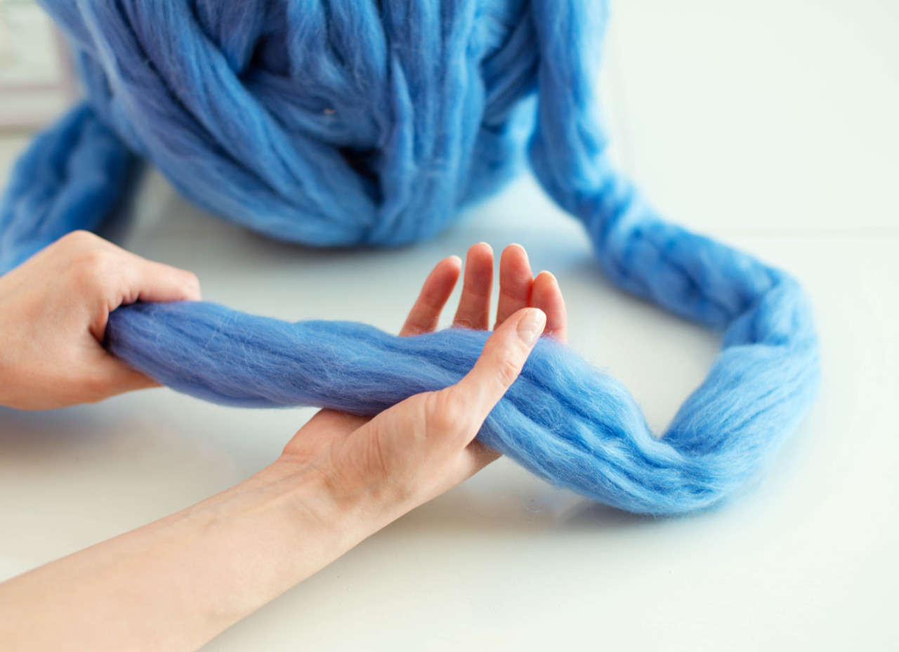 All you need to know about different types of chunky merino wool felting