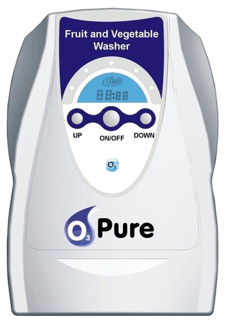 O3 PURE Multi-Purpose Fruit Vegetable Washer and Ozone Generator