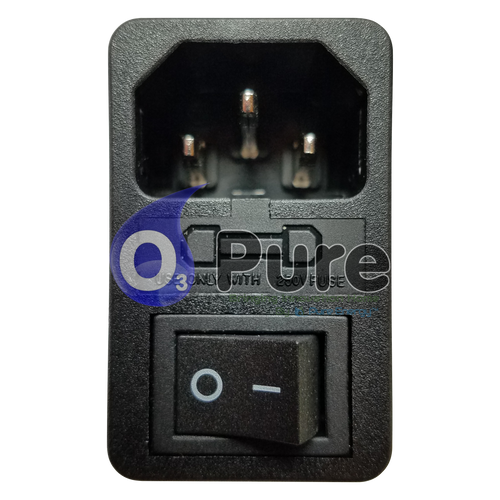 Power Switch and Fuse Holder for the Whole House Air Purifier