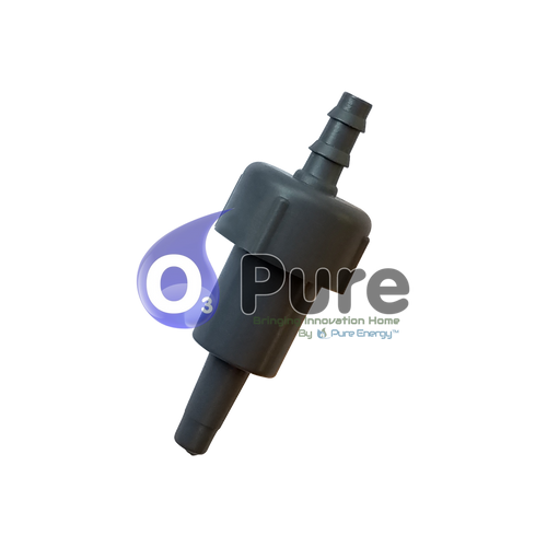 Gray Check Valve for the Ozone Eco Laundry System