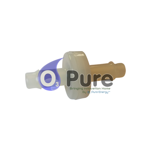 Small Ozone Check Valve for the Eco Laundry Washers