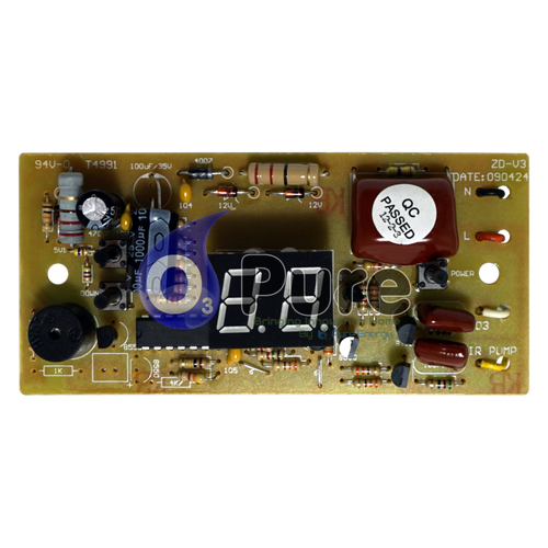 Replacement Board for our O3 PURE Elite 50 KT Ozone Fruit and Vegetable Ozone Washer