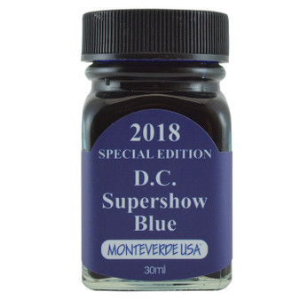 Monteverde USA® 30ml 2018 Special Edition D.C. Supershow Blue  Ink Bottle