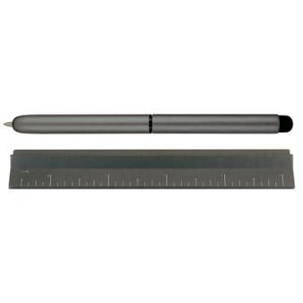 Monteverde USA® Calibra 4-in-1 Desk Set Dark Grey