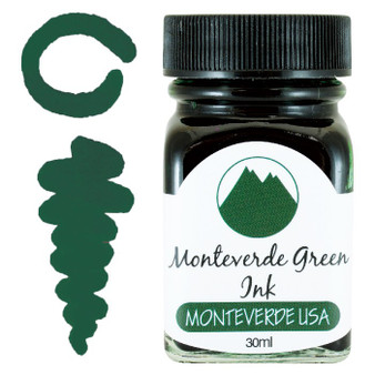 Monteverde USA® Monteverde Green 30ml Core Fountain Pen Ink Bottle