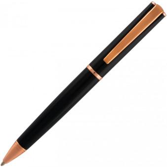Monteverde USA® Impressa™, Ballpoint Pen, Black with Rose Gold Trim