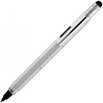 Monteverde USA® Tool Pen™ InkBall, Liquid Rollerball Pen, Silver