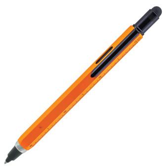 Monteverde USA® Tool Pen™ InkBall, Liquid Rollerball Pen, Orange/Black