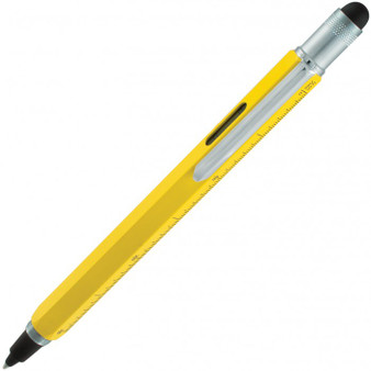 Monteverde USA® Tool Pen™ InkBall, Liquid Rollerball Pen, Yellow