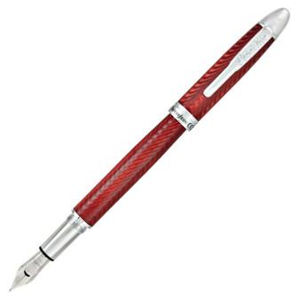 Conklin Herringbone Burgundy Fountain Pen