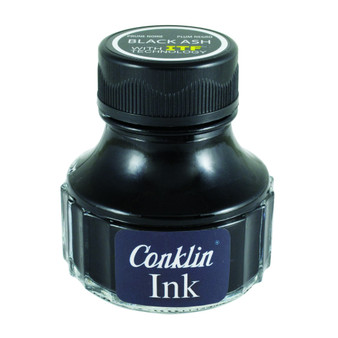Conklin Ink Bottle 90ml Black Ash
