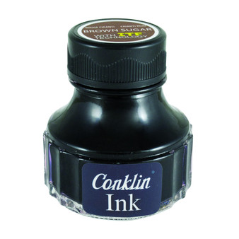 Conklin Ink Bottle 90ml Brown Sugar