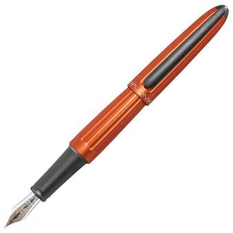 Diplomat Aero Orange 14K Fountain Pen Medium Nib