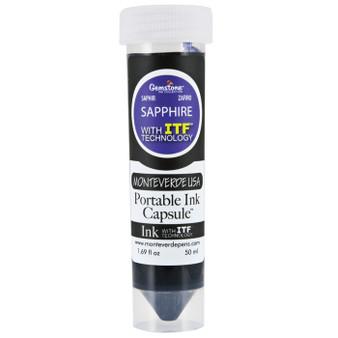 Monteverde USA® 50ml Ink Capsule Gemstone Sapphire