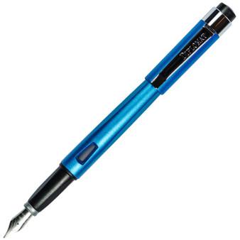 Diplomat Magnum Aegean Blue Fountain Pen, Medium Nib