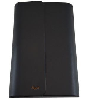 Pineider 12 Pen Leather Case, Black