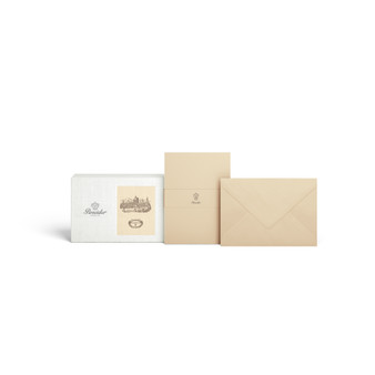Pineider Florentia Box of 12 cards and 12 envelopes - form. 20 /Confezione 12 cart. + 12 buste - Form. 20