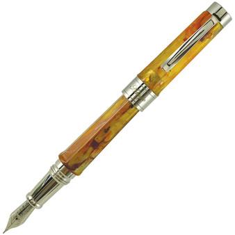 Stipula Adagio Fountain Pen Amber Fine
