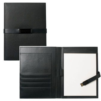 Hugo Boss Folder A5 with USB Binder