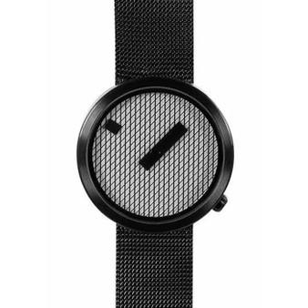 Nava Jacquard Watch, 39mm Leather Strap