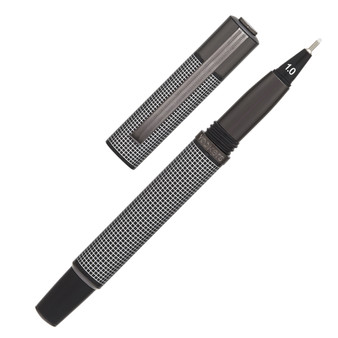 Yookers Metis Fiber Pen Black Grid/Gunmetal