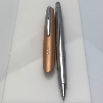 Online Diamonds Rollerball Pen w/Stylus Copper