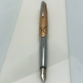 Online Diamonds Fountain Pen Copper