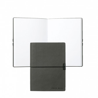 Hugo Boss Note Pad A6 Storyline Dark Grey