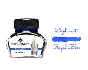 Diplomat Ink Royal Blue 30ml Bottle