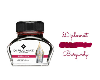 Diplomat Ink Burgundy 30ml Bottle