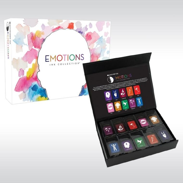 Monteverde USA® 10 piece ink gift set, Emotions