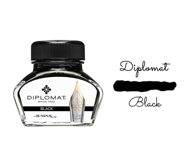 Diplomat Ink Black 30ml Bottle