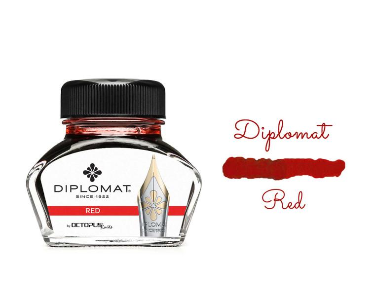 Diplomat Ink Red 30ml Bottle