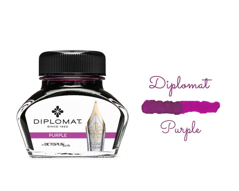 Diplomat Ink Violet (Purple) 30ml Bottle