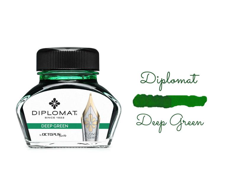 Diplomat Ink Deep Green 30ml Bottle