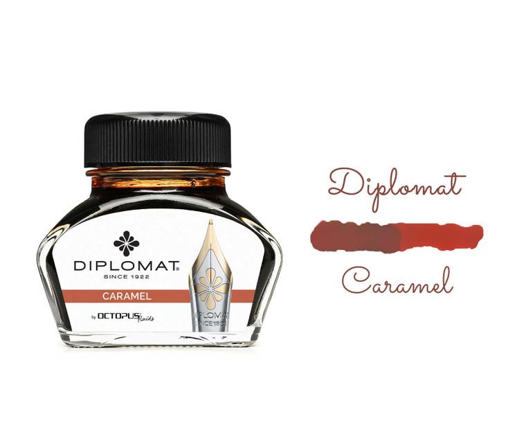 Diplomat Ink Caramel Brown 30ml Bottle