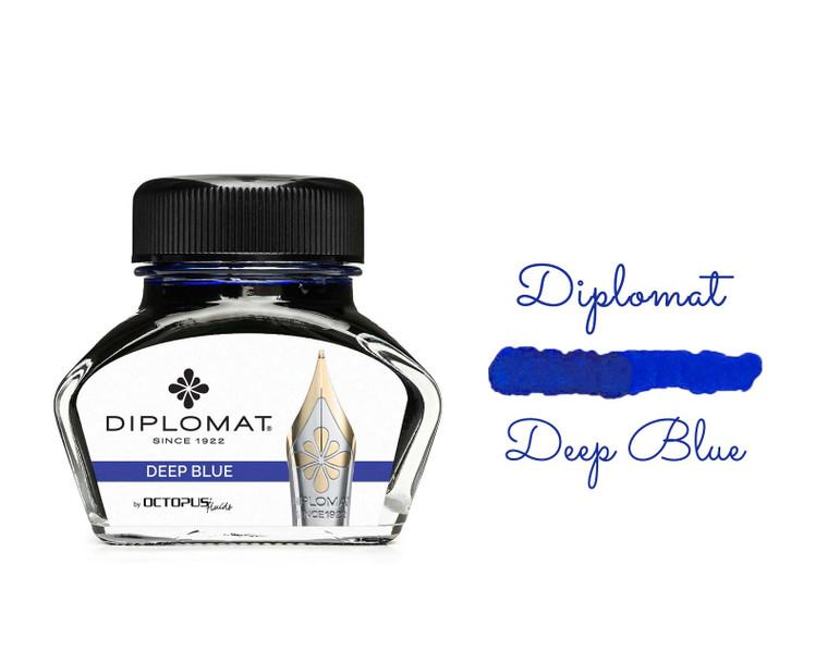 Diplomat Ink Ultramarine Blue (Deep Blue) 30ml Bottle