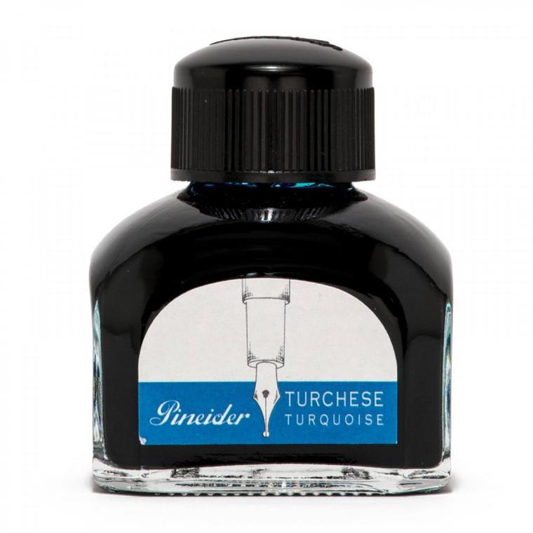 Pineider 75ml Ink well bottle Turquoise