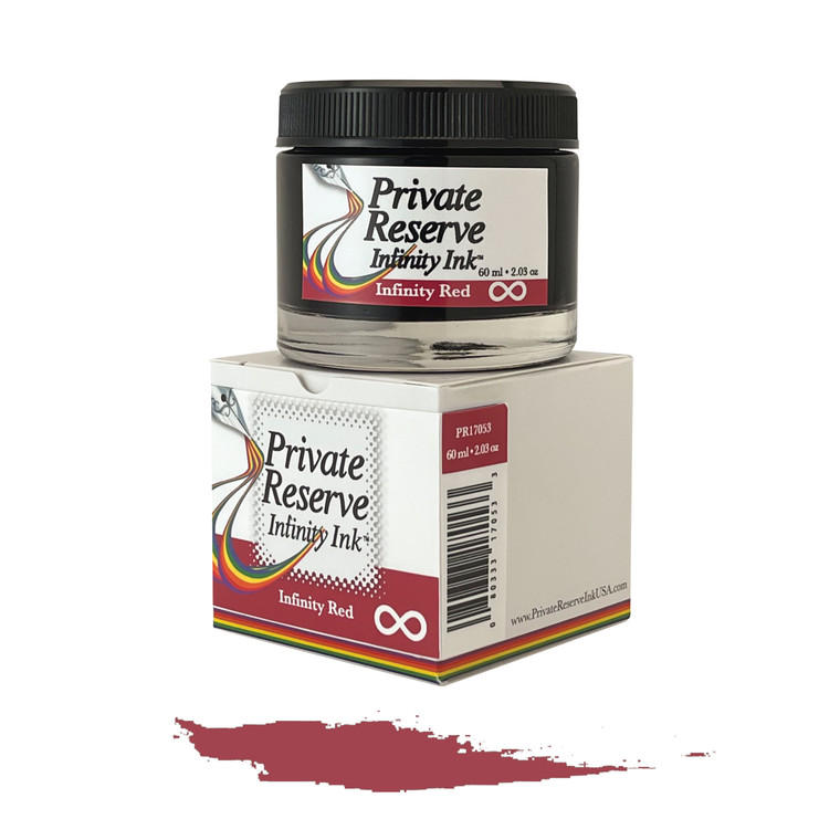 Private Reserve Ink, 60 ml ink bottle; Infinity Red (with E.C.O. formula)