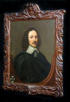 Large 17th Century English Portrait William Yorke Politician Lawyer Edward BOWER